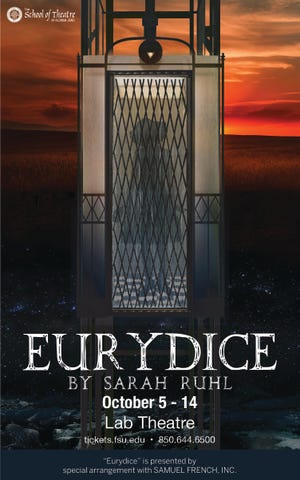 The FSU School of Theatre production of 'Eurydice' is currently showing October 5th through the 14th