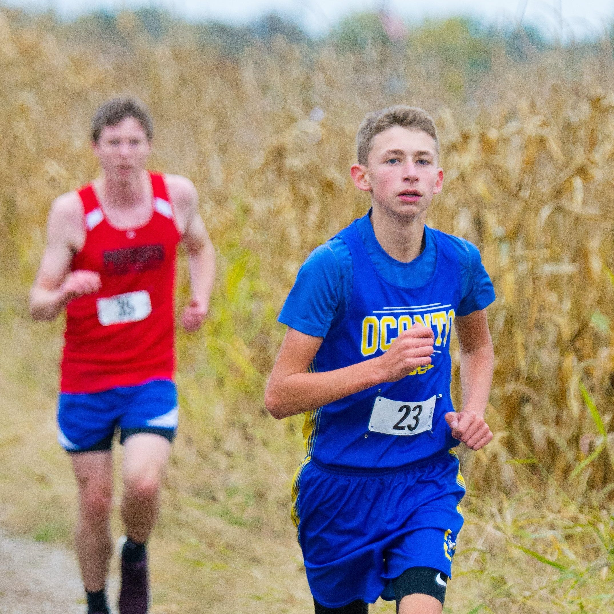 Oconto runner claims first, fourth in cross country meets