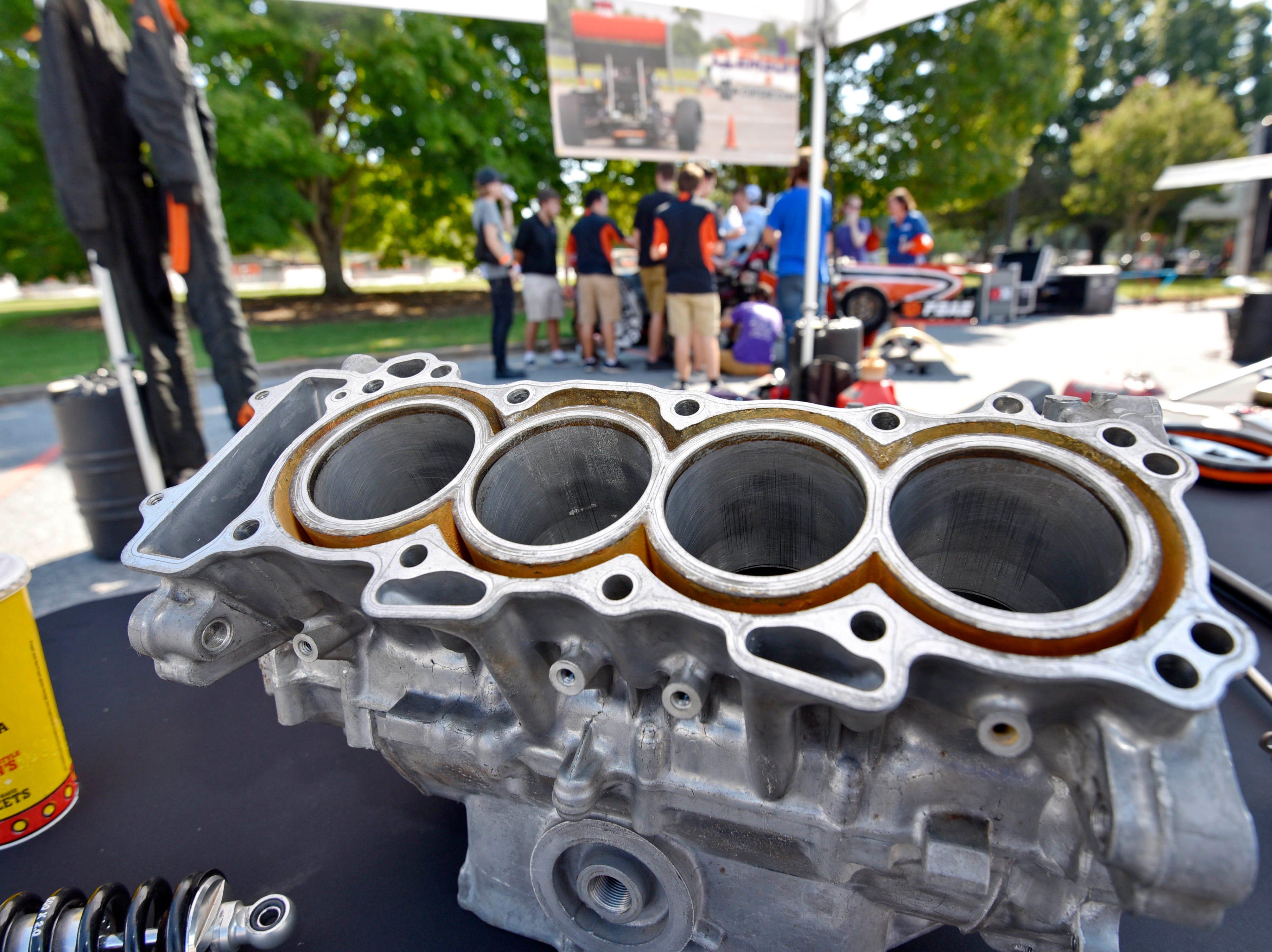 CU-ICAR unveiled the new Deep Orange 9 rally car Saturday, October 6,  2018.