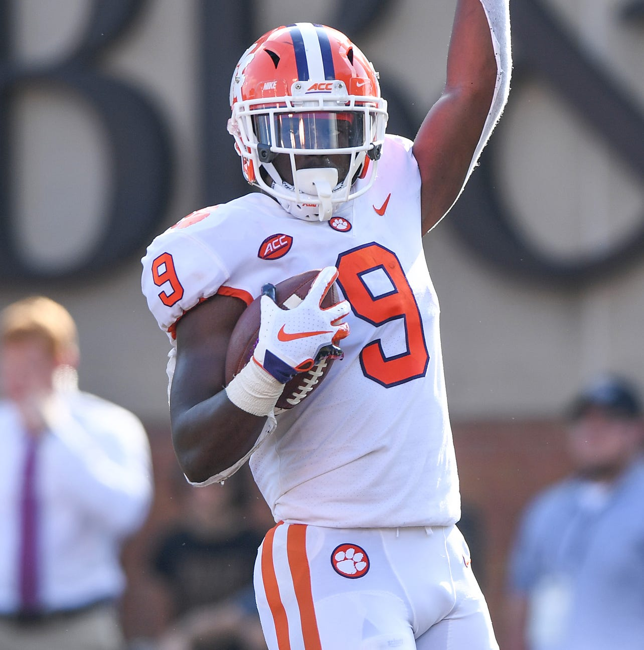 Running wild: Travis Etienne has Clemson rushing attack on record pace