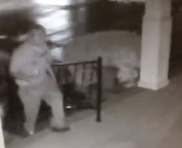 Surveillance video shows a man stealing from a Greenville autism center