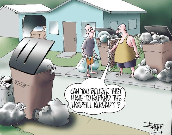 Editorial cartoon Oct. 7