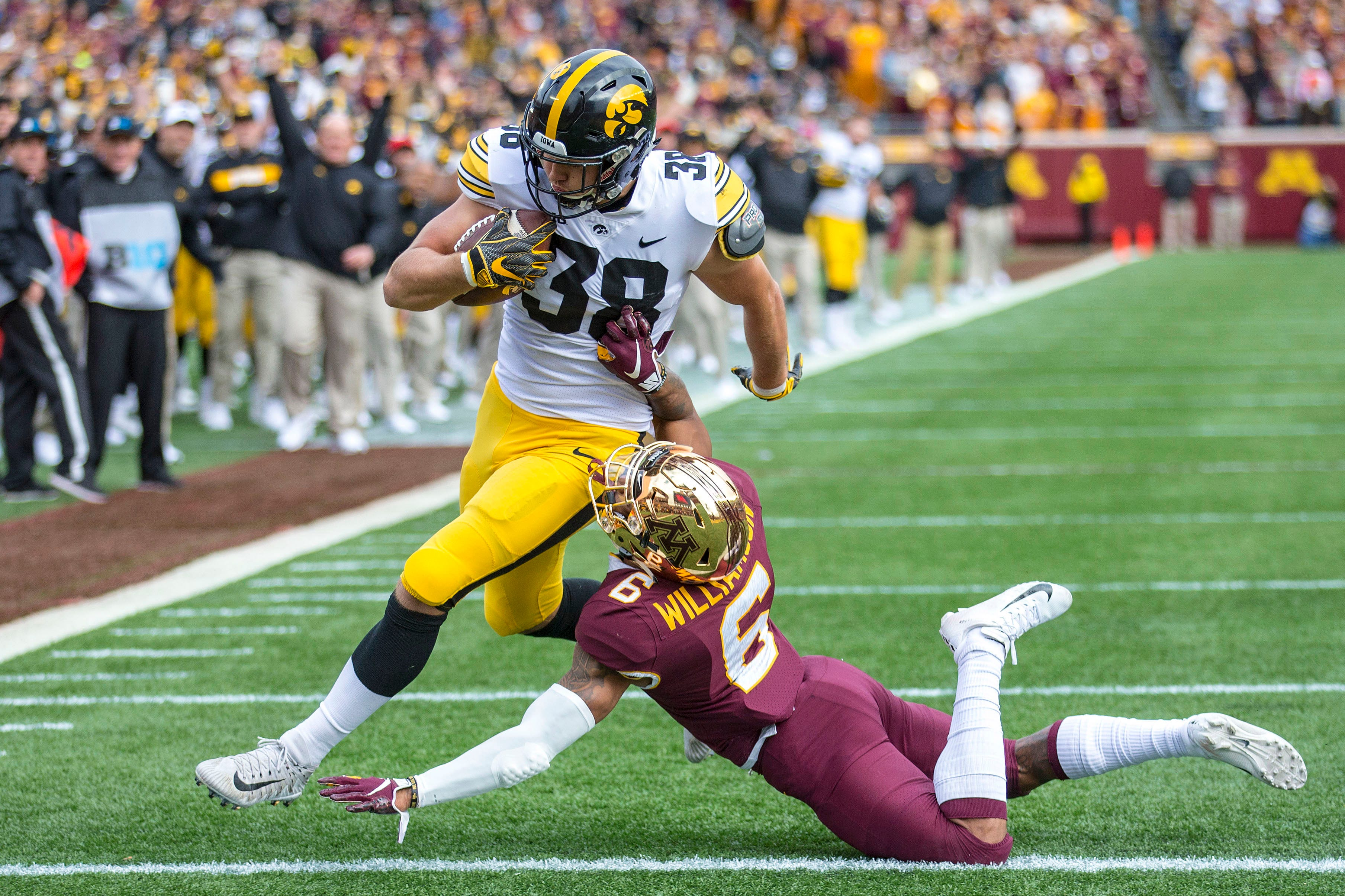 Stats File Details On Projected Football Starters For Iowa At Indiana
