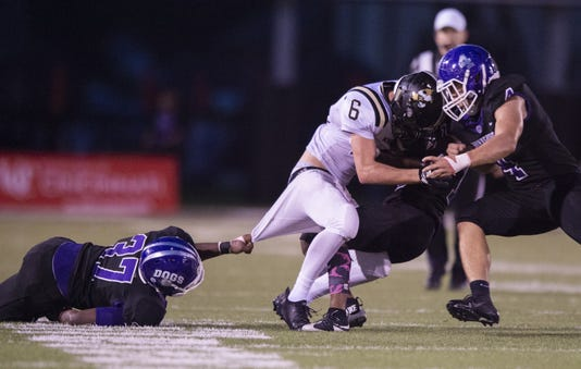 Varsity Football Noblesville Vs Brownsburg