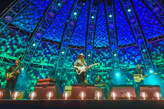 Chris Stapleton performs Friday at Ruoff Home Mortgage Music Center.