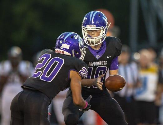 Varsity Football Noblesville Vs Brownsburg