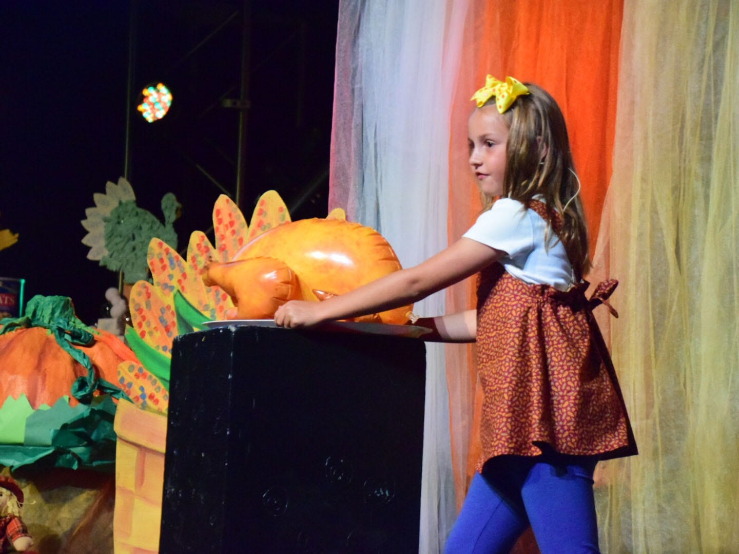 """Vivie White, 8, won first place in grade 3 for her story, """"Emily Anne's Thanksgiving."""""""