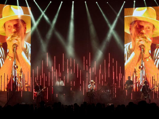 Needtobreathe performing at Thompson-Boling Arena on  Friday, October 5, 2018.