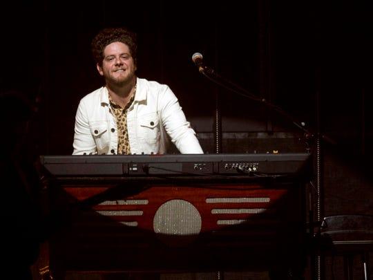 Josh Lovelace of Needtobreathe performing at Thompson-Boling Arena on  Friday, October 5, 2018.