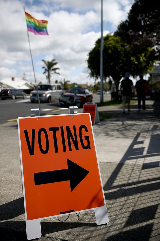 New Zealanders Head To The Polls To Vote In 2017 General Election