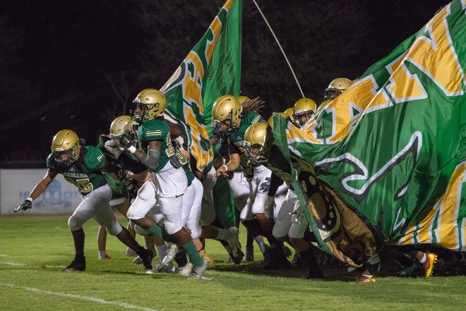 Acadiana High selling advance tickets for Friday's home game against Lafayette High.