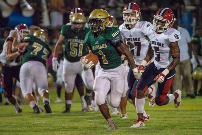 Acadiana High junior halfback Dillan Monette has been forced into a new role as the Rams' quarterback due to an injury heading into Friday's Class 5A quarterfinal showdown with defending state champion Zachary.