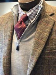 Layering is a smart option for Breeders' Cup Mens Fashion from Fashion Post