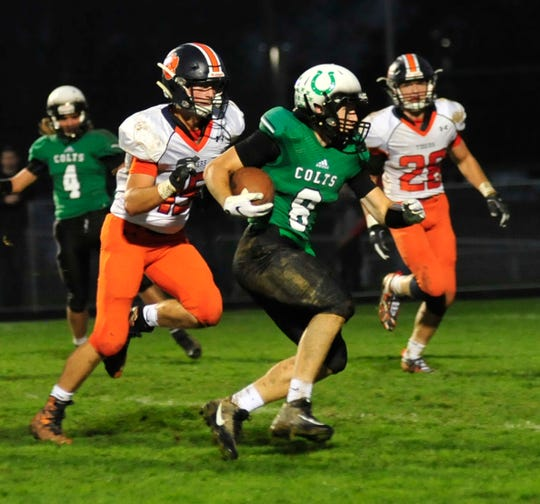 Clear Fork's Jared Schaefer gets one last chance to be a dual threat quarterback when he suits up for the South in the NCOFCA All-Star Football Classic at Lexington High School on Friday, June 14.