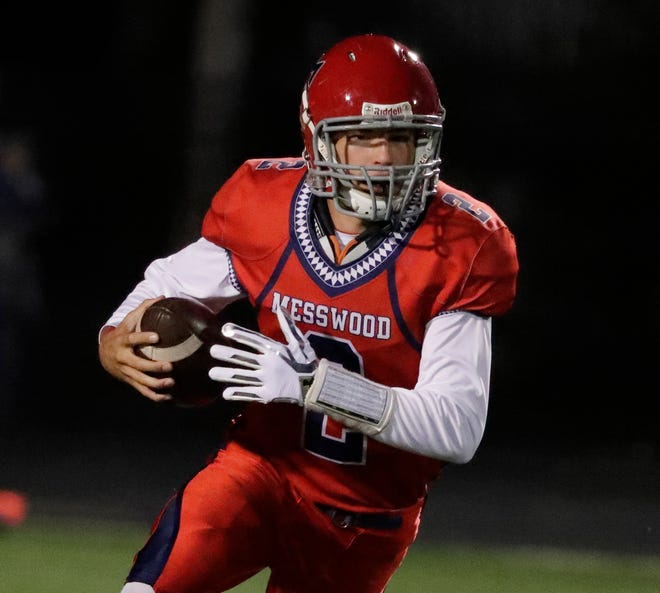 Shorewood Messmer quarterback Aaron Eimers