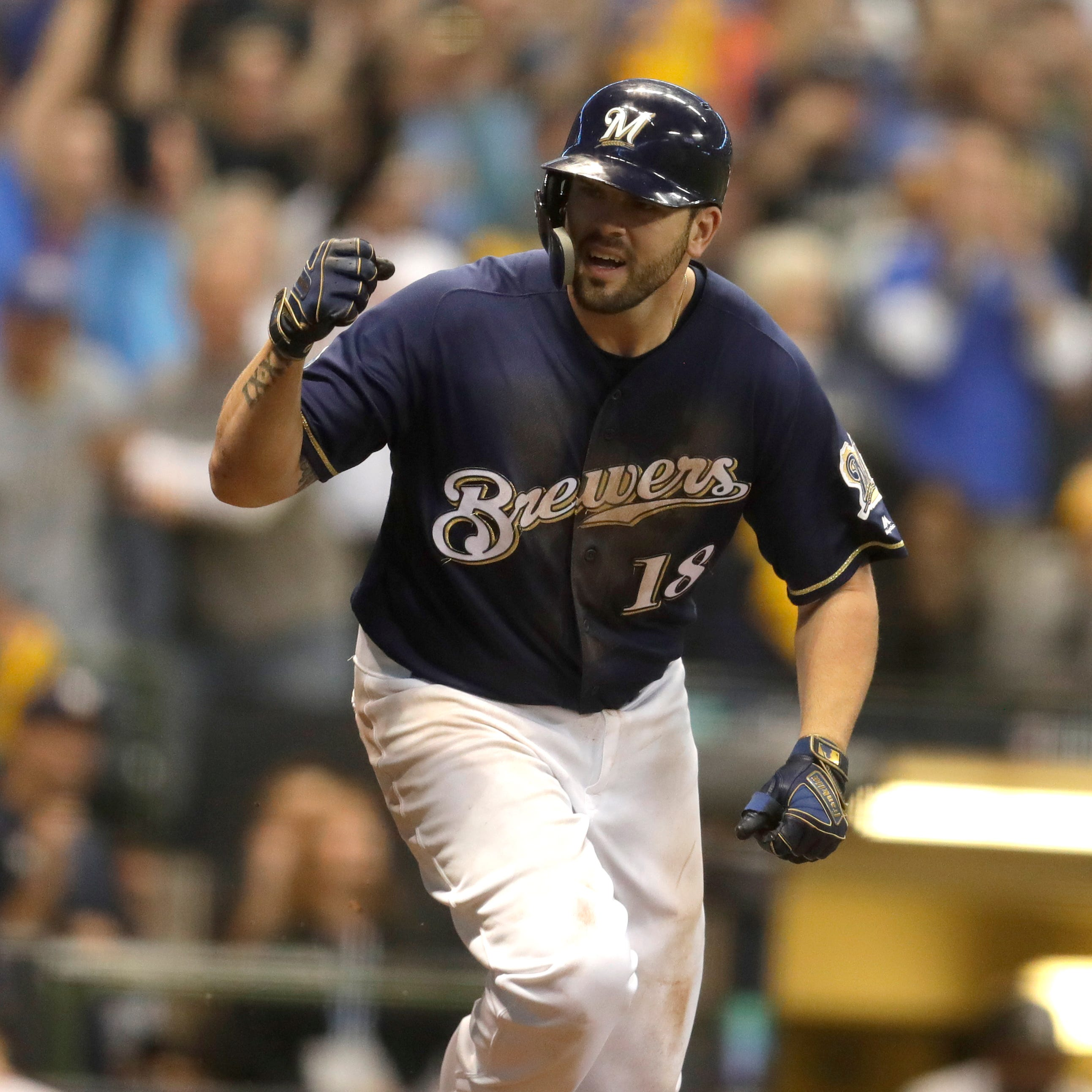 Brewers' plan is to move Mike Moustakas to second base and keep Travis Shaw at third base
