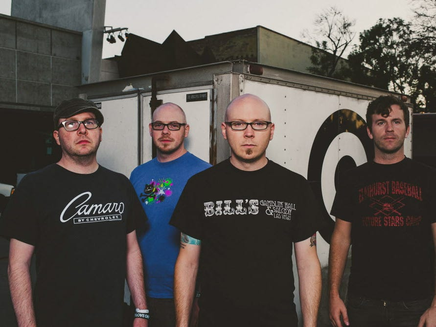 Punk band Smoking Popes will perform at the Back Room at Colectivo Coffee Dec. 7. Tickets are $15 in advance, $18 day of show.