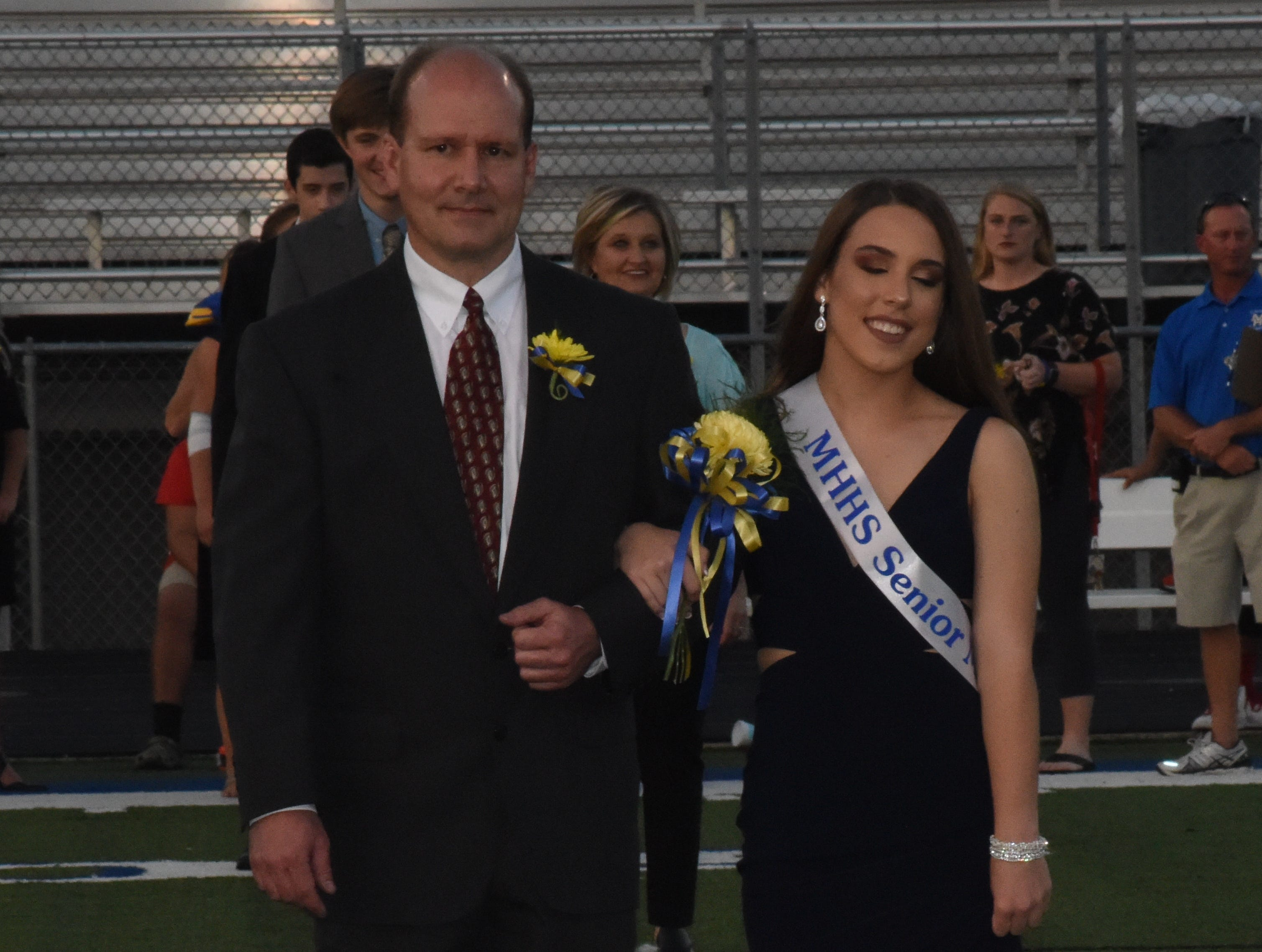 Senior made Allie Parsons and her father, Eric Parsons.