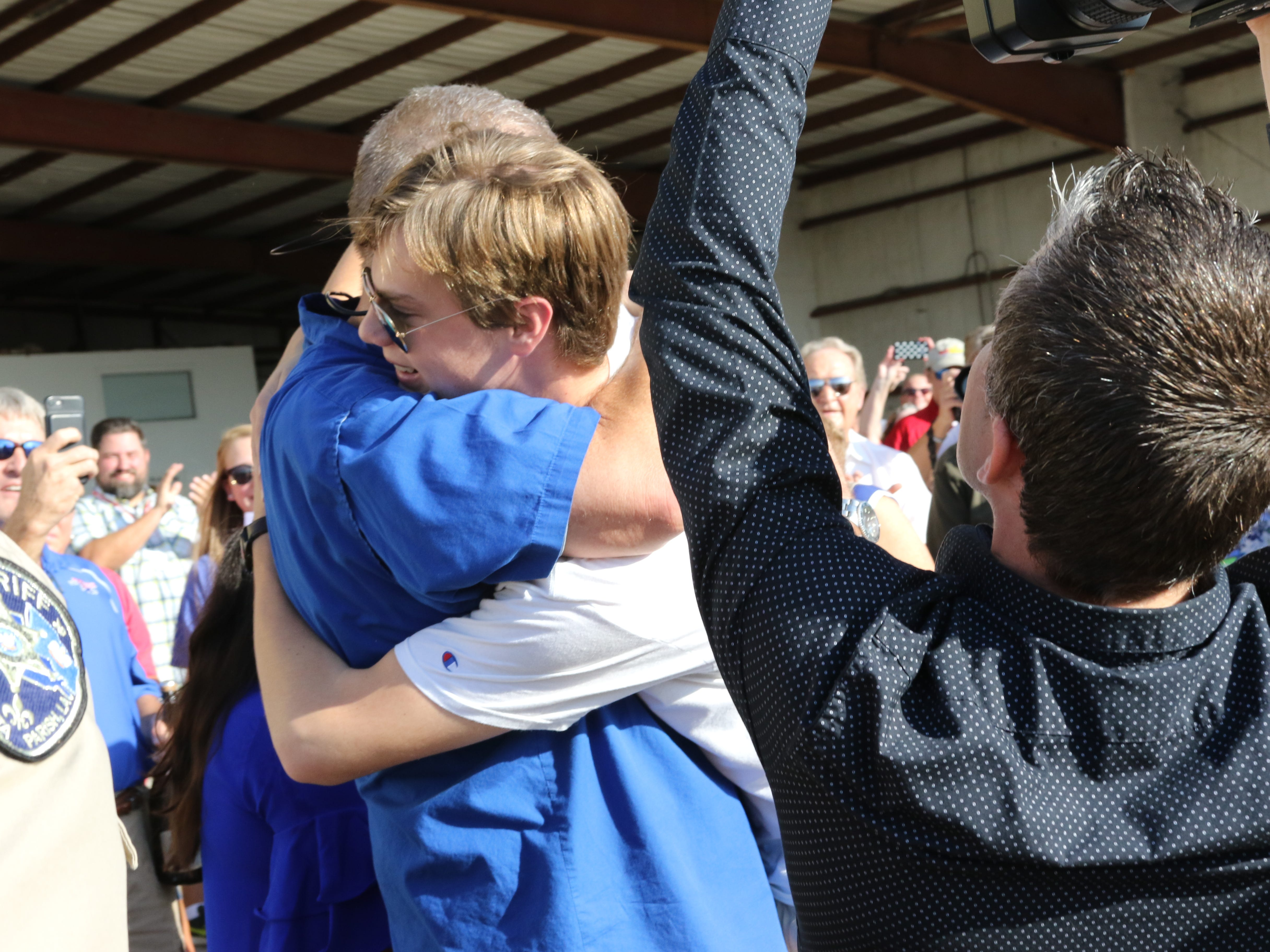 The community welcomes Mason Andrews home from his world record journey around the globe on Saturday, October 6, at the Pilots for Patients Hanger at the Monroe Regional Airport.