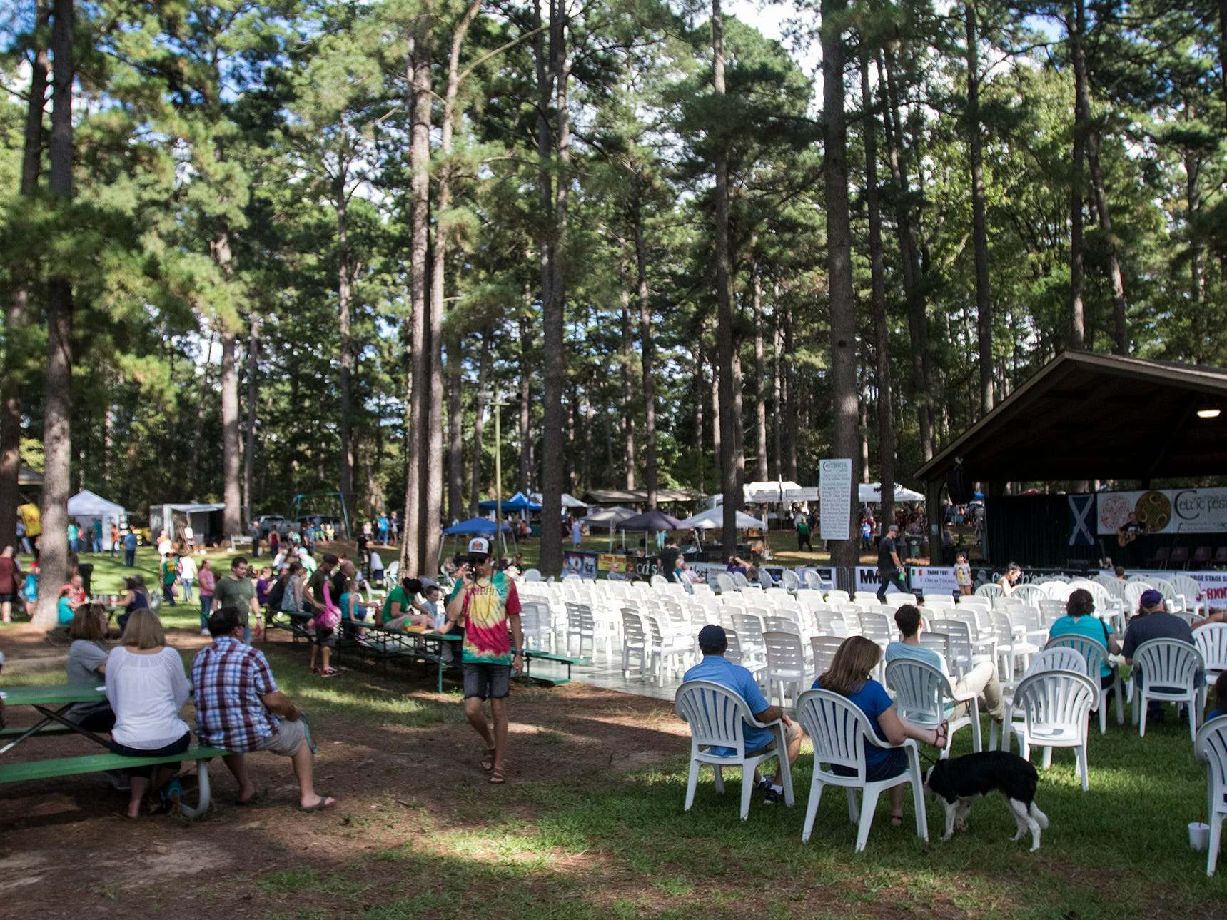 The Northeast Louisiana Celtic Fest brought Celtic music and culture to Kiroli Park in West Monroe, La. on Oct. 6.