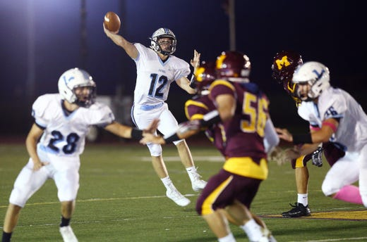 Parsippany Hills Football Scores Three Td In 30 Seconds Tops Madison