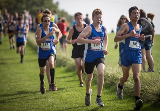 Runner from multiple schools across the area participate in the Cross Country Sectional Saturday morning at the Muncie Sports Complex. Yorktown and Delta took the top two spots for both the boys and girls races.