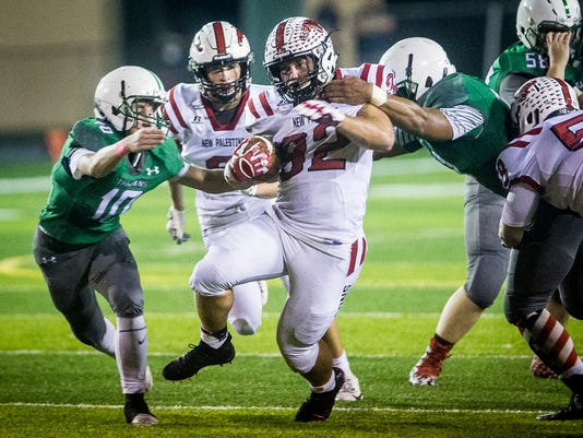 New Palestine S Charlie Spegal Prepares To Play Former