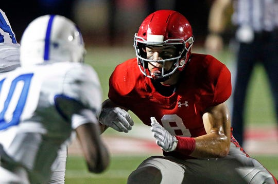 Brentwood Academy's Devyn Curtis is the state's 24th ranked prospect for 2020.