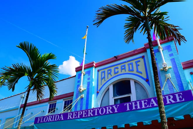 Historic Arcade Theatre, home of Florida Repertory Theatre