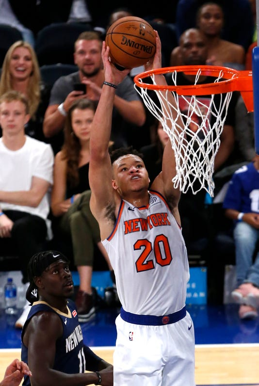 Nba Preseason New Orleans Pelicans At New York Knicks