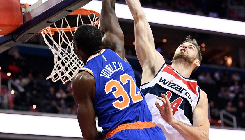 Noah Vonleh giving New York Knicks something to think about
