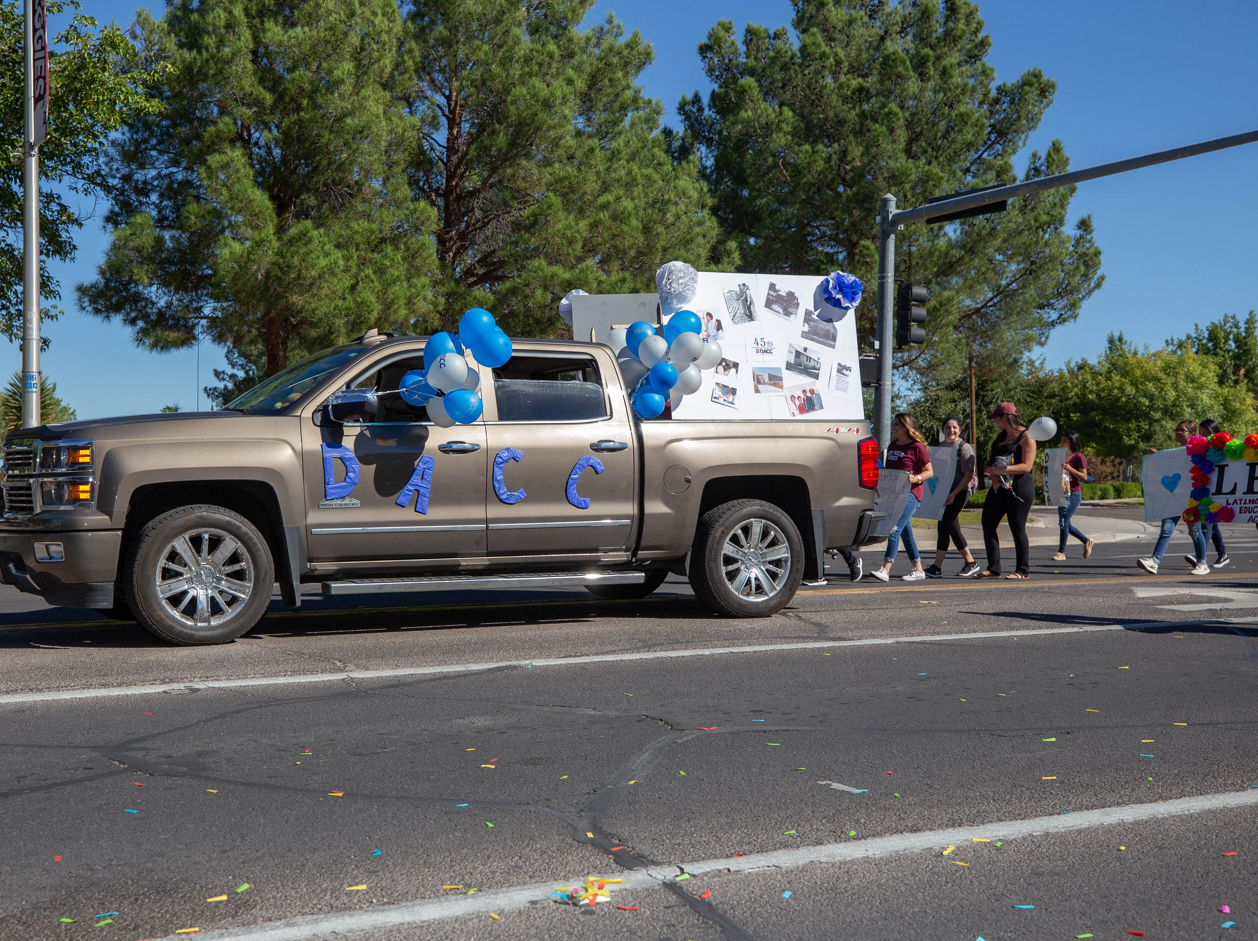 SGA of DACC entry at the NMSU Homecoming Parade on October 6, 2018.