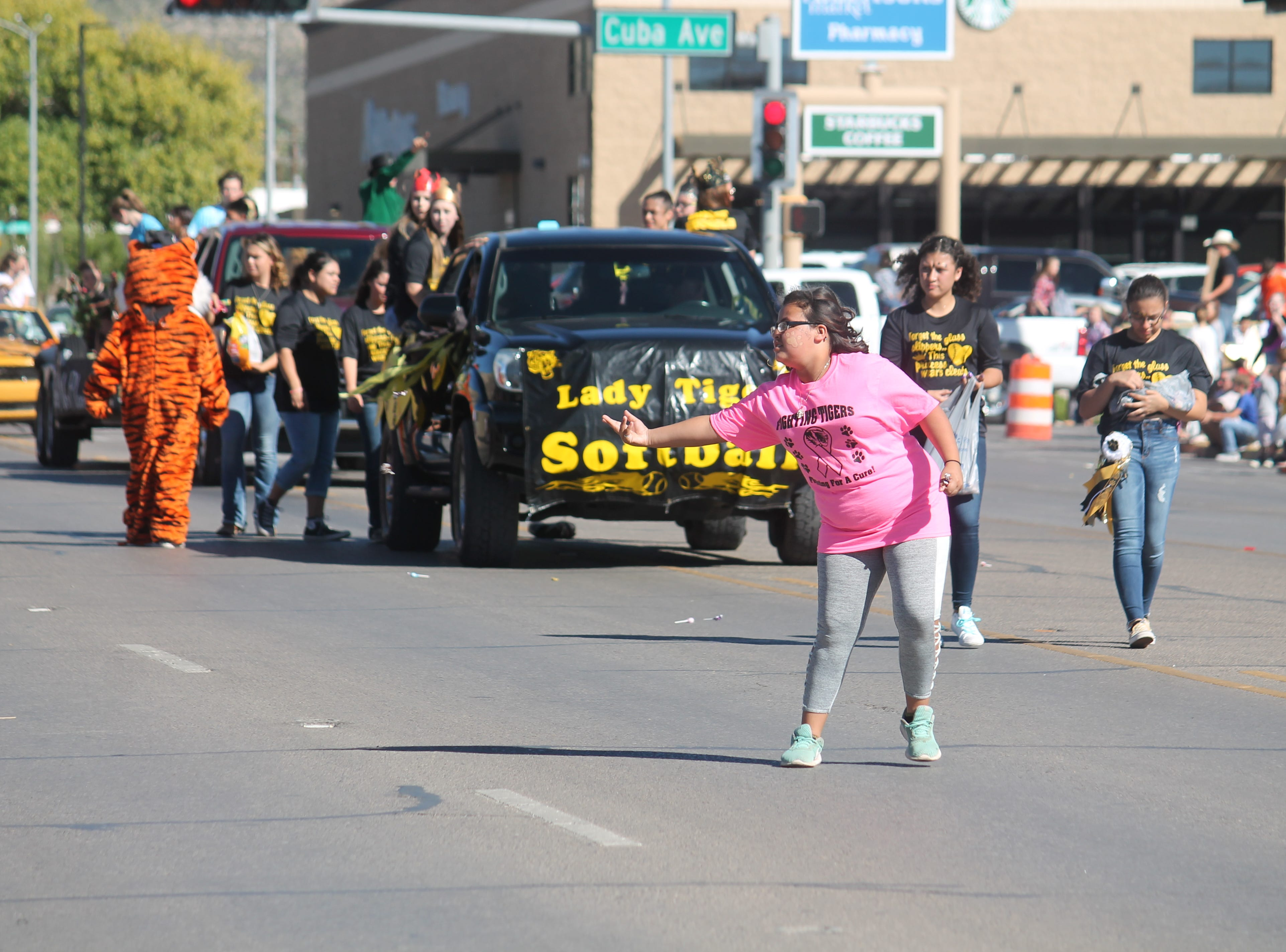 Scenes from the 2018 Alamogordo High School homecoming parade and crowning of the court