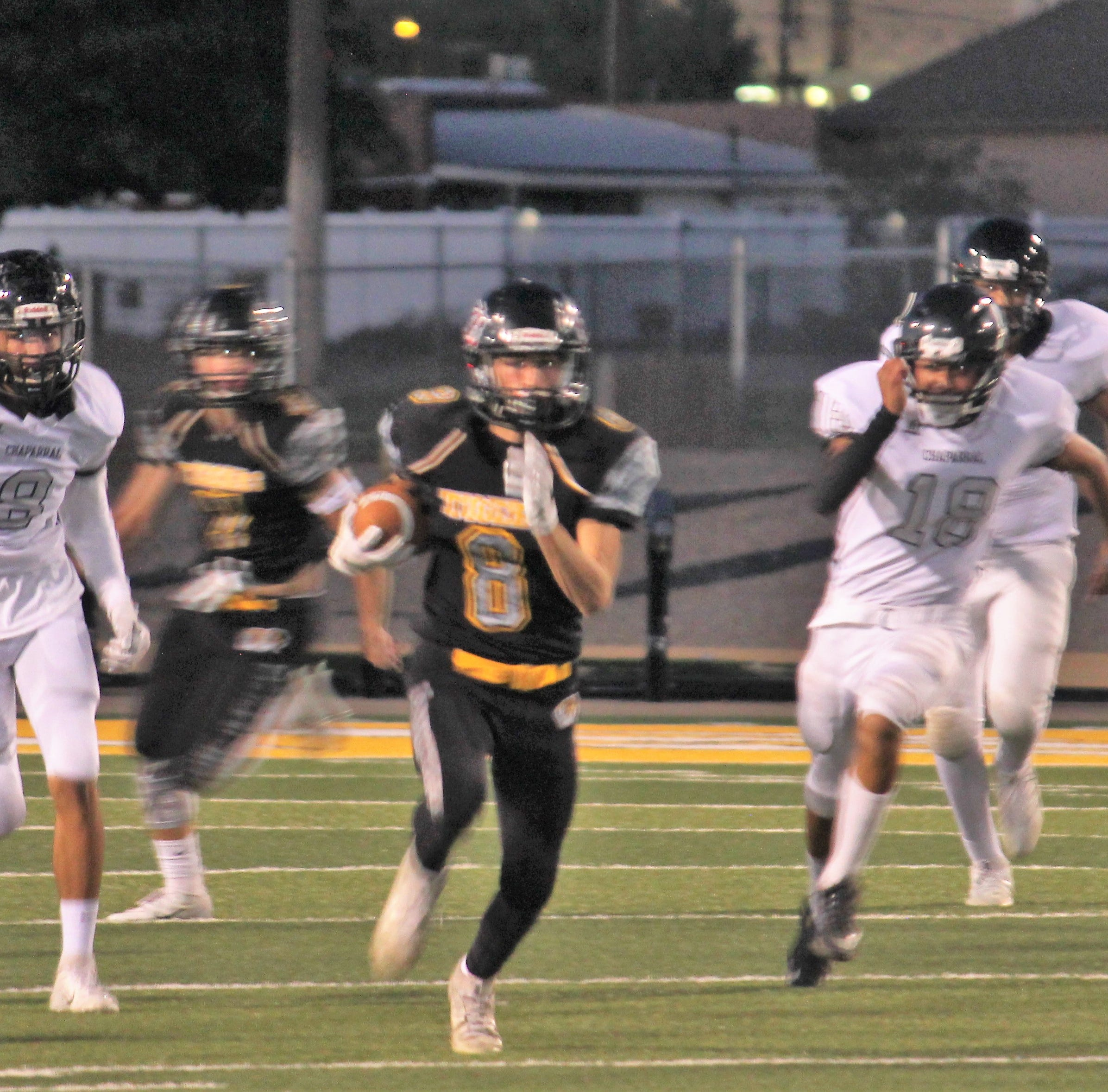 Alamogordo Tigers end losing streak with 35-0 victory