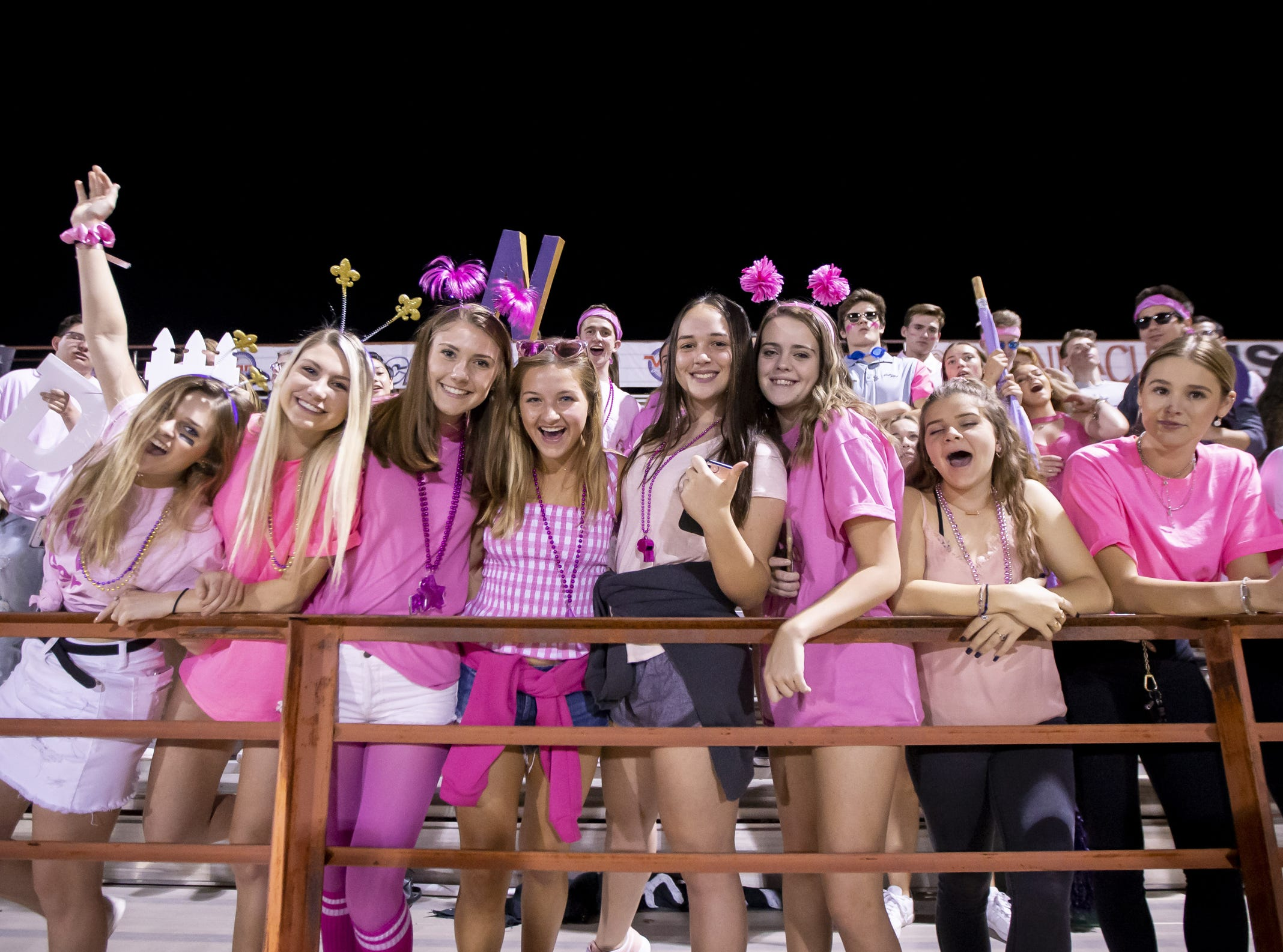 Notre Dame Prep fans during the game against the Horizon Huskies at Horizon High School on Friday, October 5, 2018 in Scottsdale, Arizona. #azhsfb
