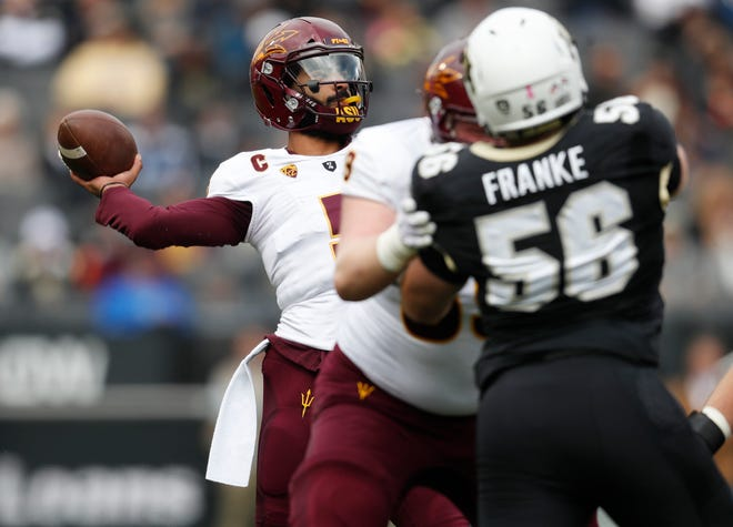 Manny Wilkins and ASU have renewed confidence from a week of rest after losing to Colorado Oct. 6, 2018.