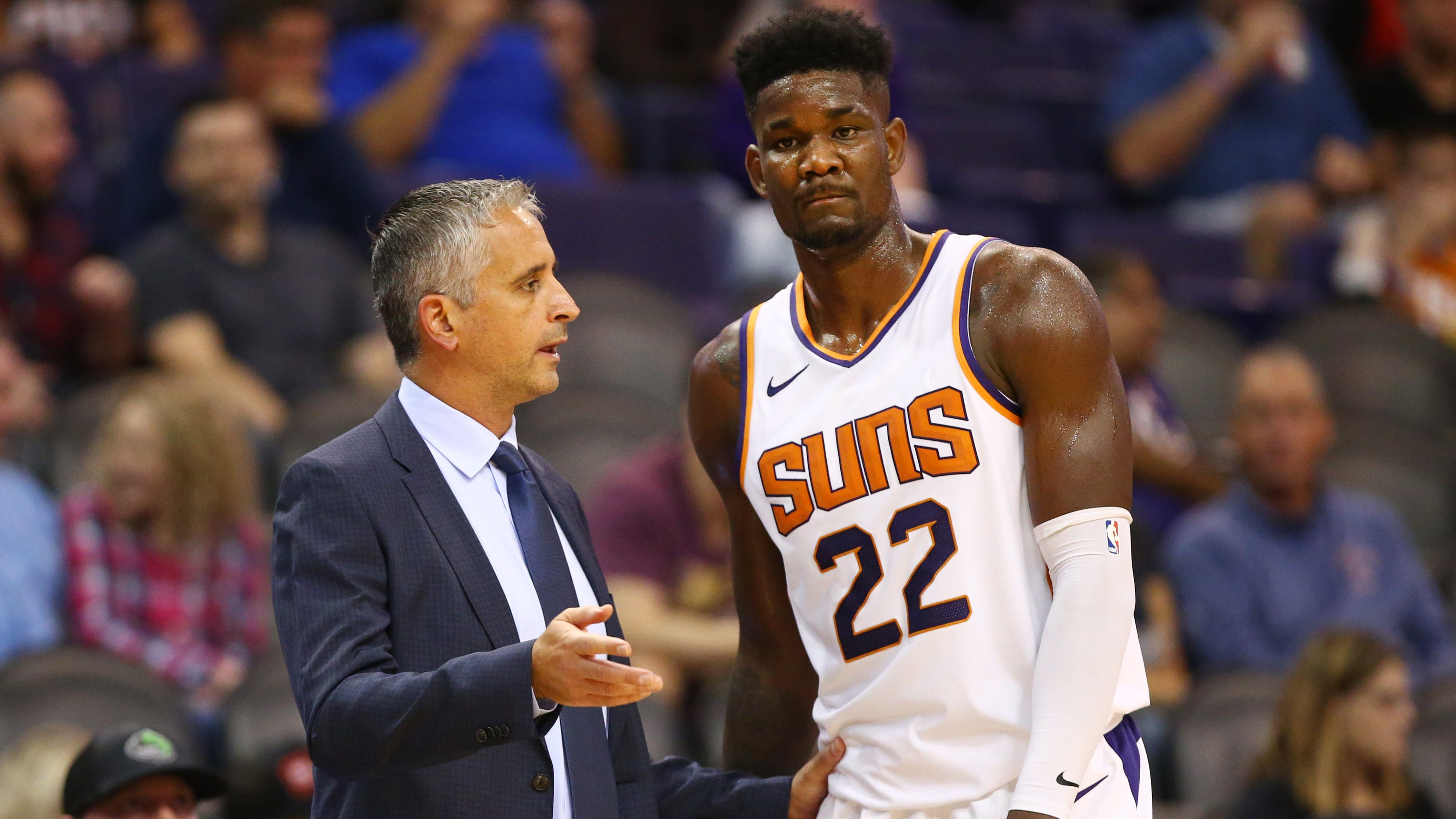 2168f0718d5b Deandre Ayton and the Phoenix Suns have huge offseasons ahead of them