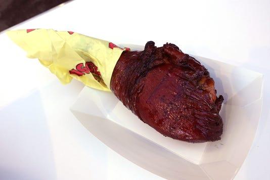 Spicy Picante Smoked Turkey Leg