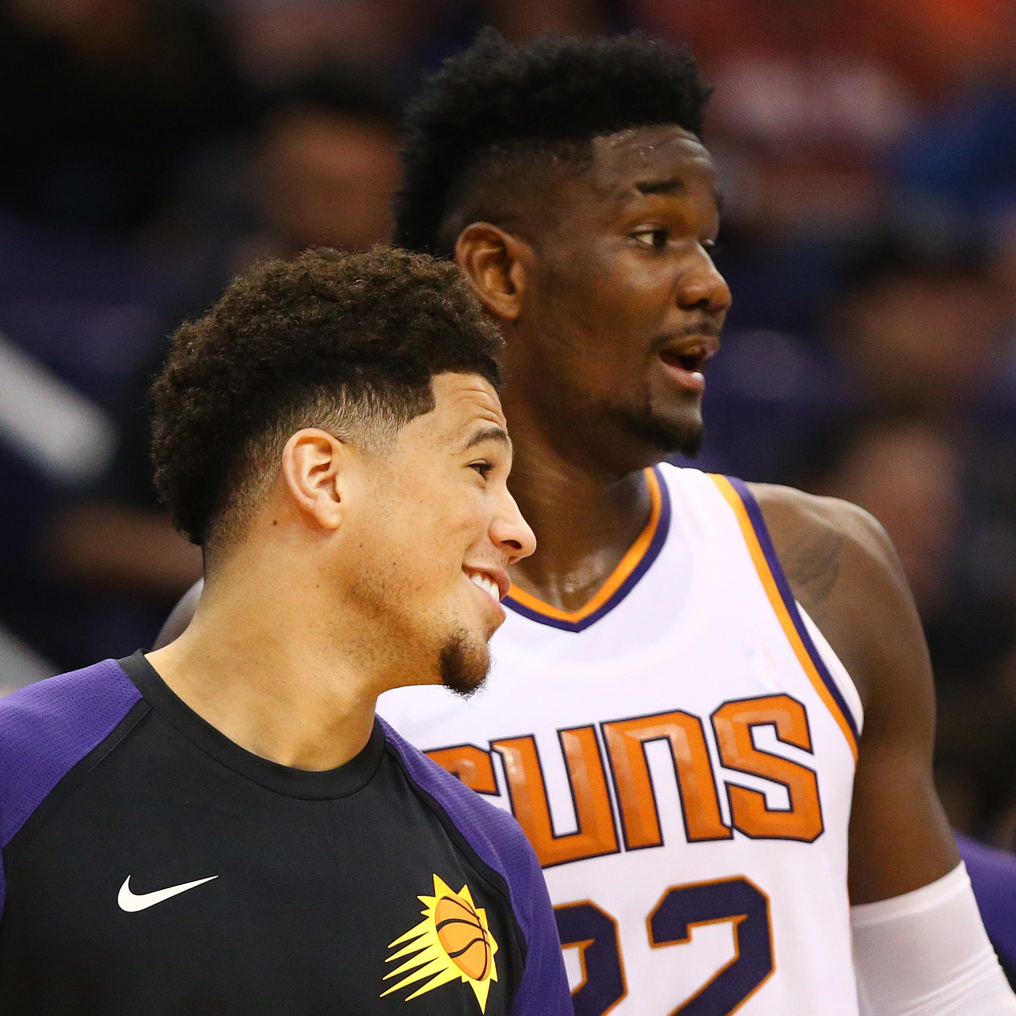 Devin Booker wants Phoenix Suns rookie Deandre Ayton to start his 'legacy' right