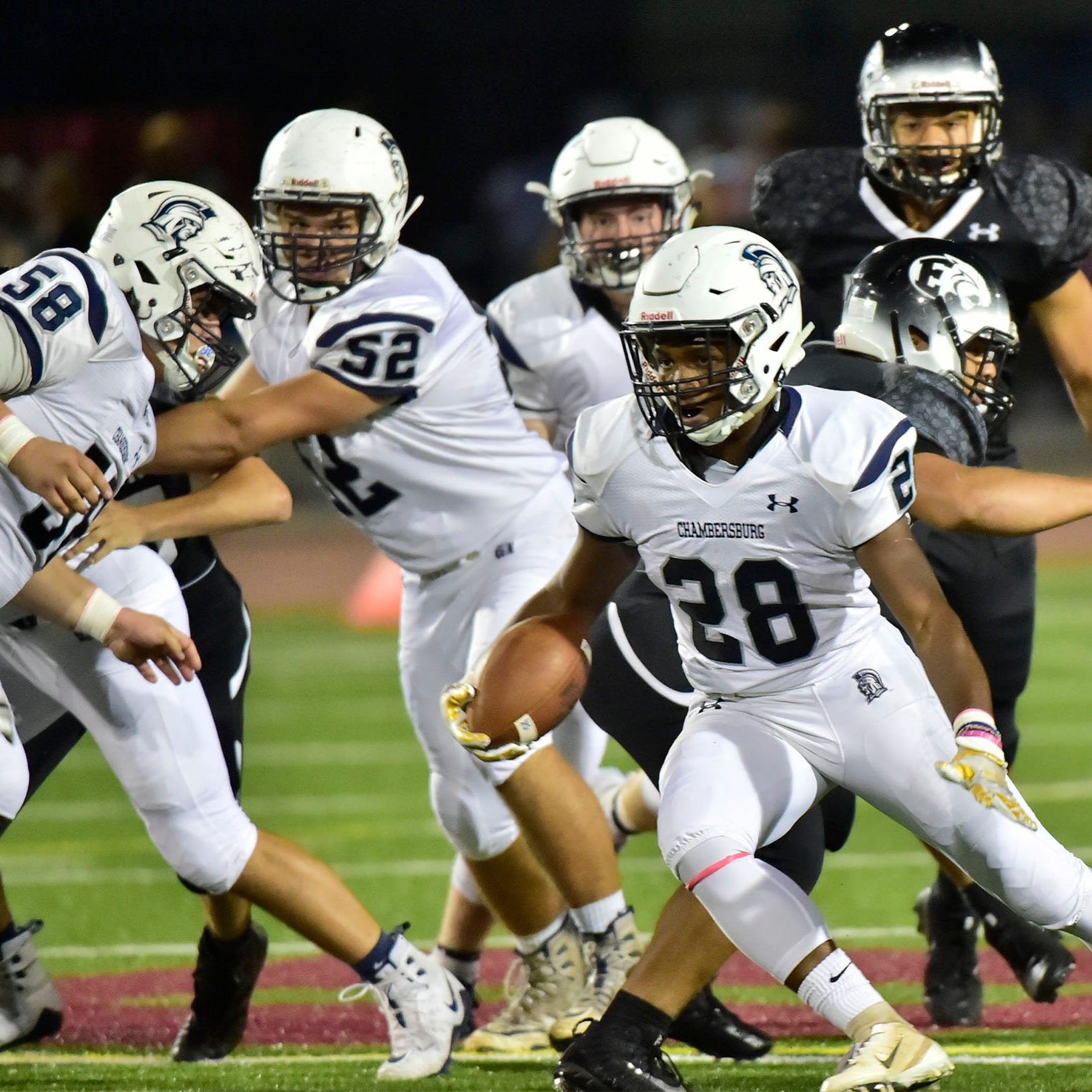 Quick hits: Chambersburg edges CD East behind Jones' 298 yard night
