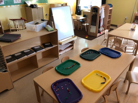 YWCA York celebrated the opening of a new Pre-K Counts classroom Wednesday, Oct. 3, 2018.