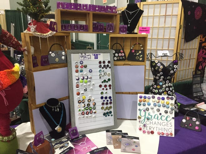 Magnabilities, a nationwide company that sells magnetic interchangeable jewelry, is one of the 200 vendors in this year's show.
