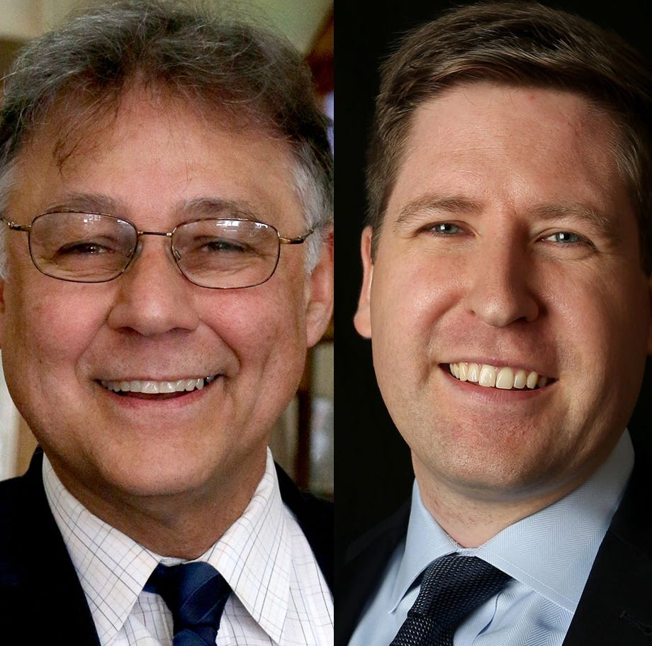 Name recognition vs. Money: Bill Burgess faces newcomer Colm Willis for commissioner