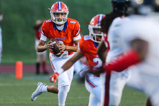 San Angelo Central sophomore quarterback Malachi Brown has done a phenomenal job since taking over for injured senior Maverick McIvor during Week 2 of the 2018 season.