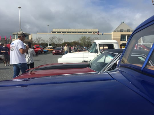 A wide range of car makes and models could be seen at the Endless Summer Cruisin' event in Ocean City.