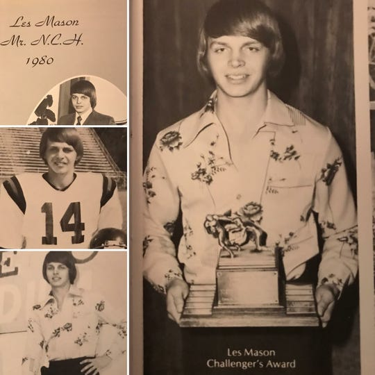 North Caddo coach Les Mason was Mr. North Caddo in 1980.