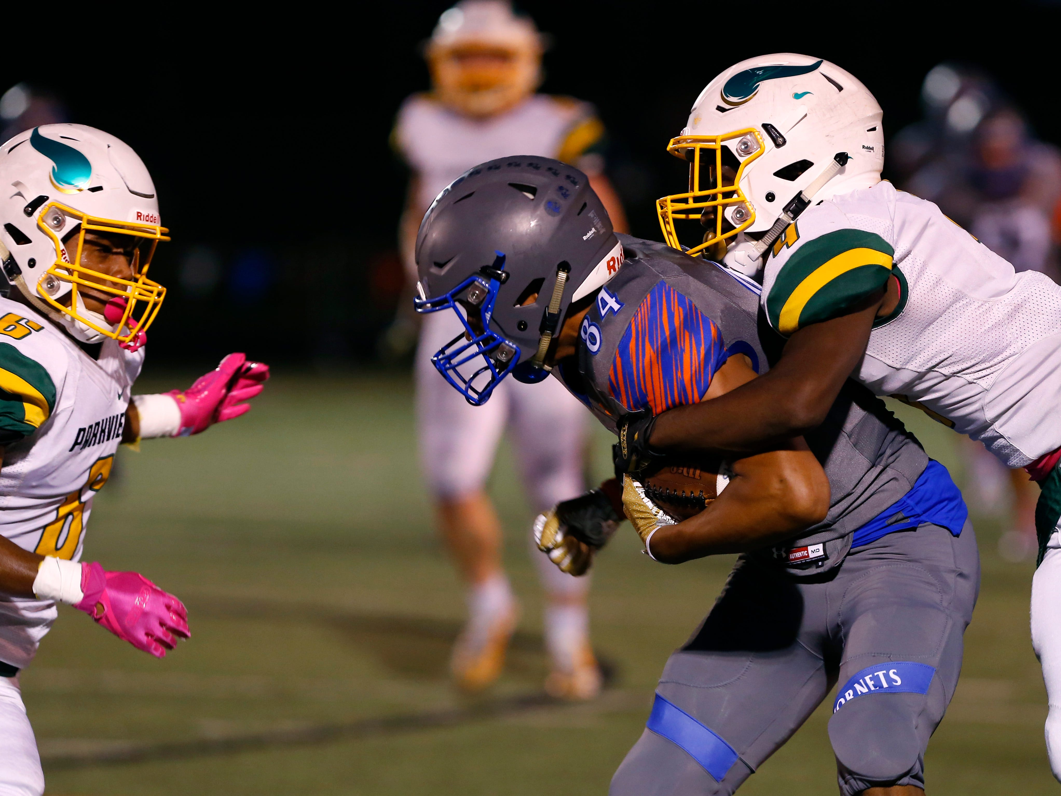 The Hillcrest Hornets took on the Parkview Vikings at Hillcrest on Friday, Oct. 5, 2018