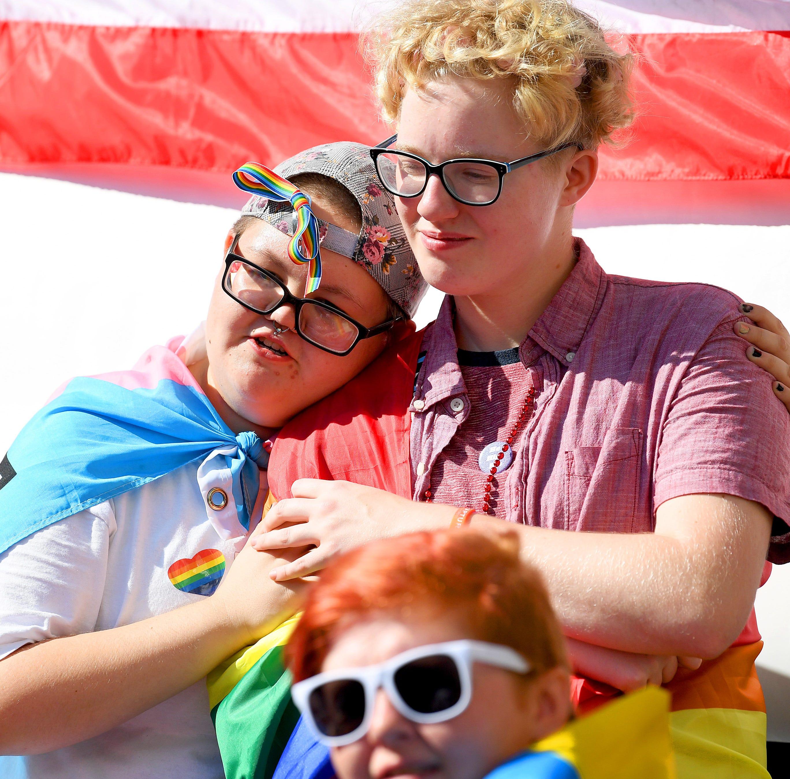 Love is love at Staunton Pride