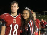 Jordan Jones and Justin McWhorter were crowned queen and king Friday night at Riverheads High School's Homecoming celebration.