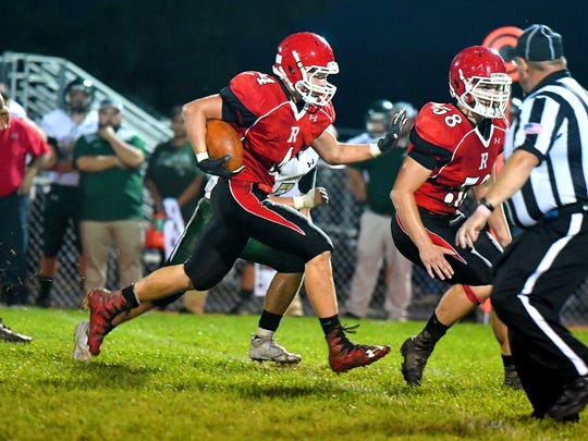 Riverheads' Blake Smith was named Shenandoah District defensive player of the year Wednesday.